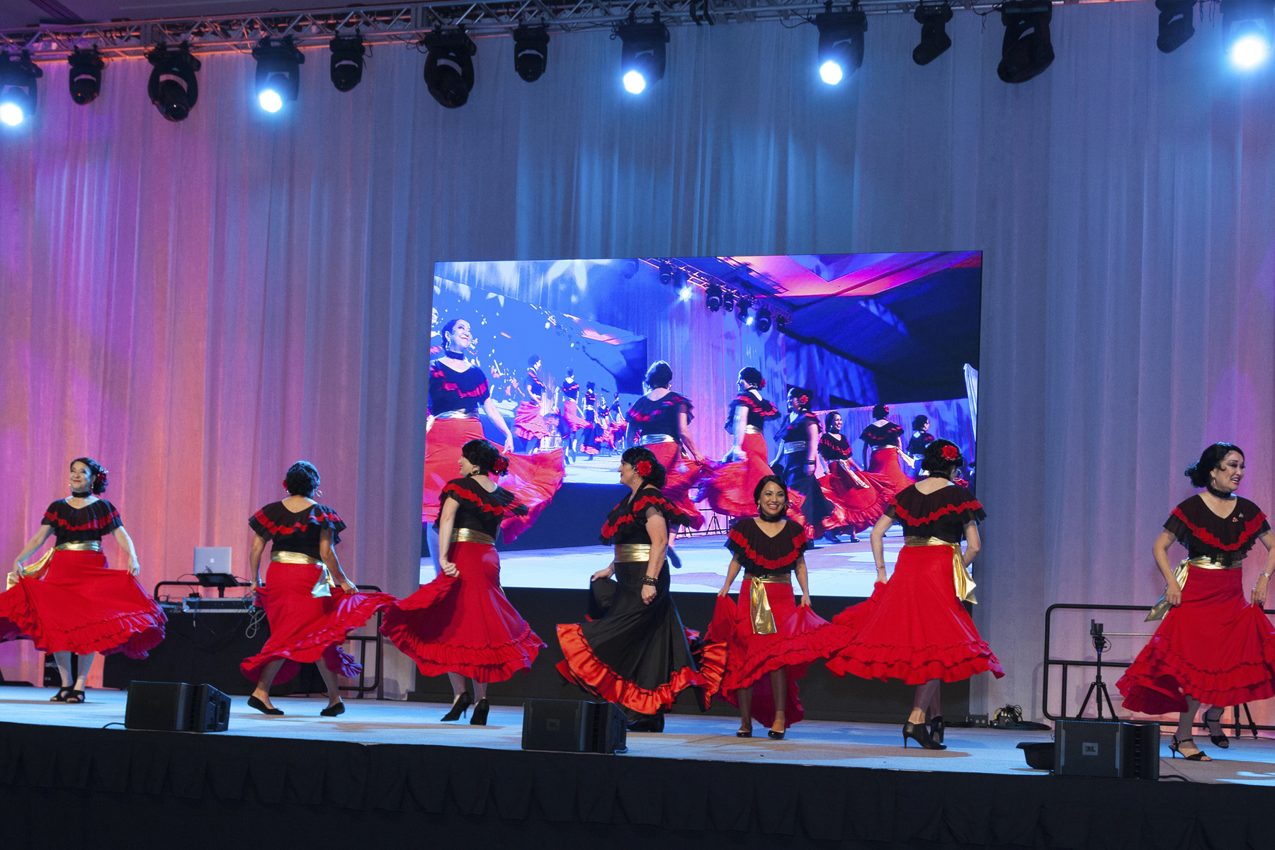2016 AN EVENING AROUND THE WORLD: The CFS Flamenco Ladies take the stage!