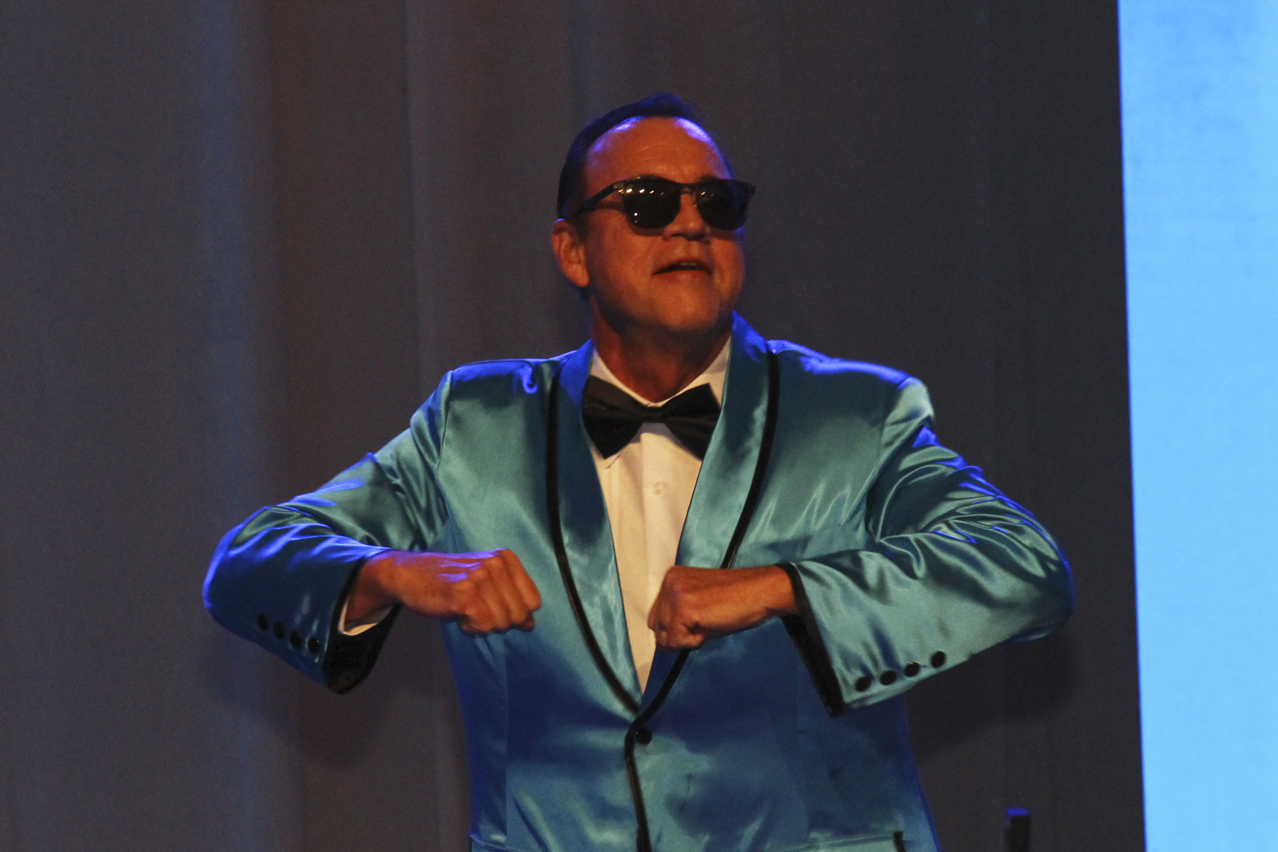 """2016 AN EVENING AROUND THE WORLD: CFS Gangnam Style Dancer Anton Krucky (Tissue Genesis, Inc.) shows his """"PSY"""" moves!"""