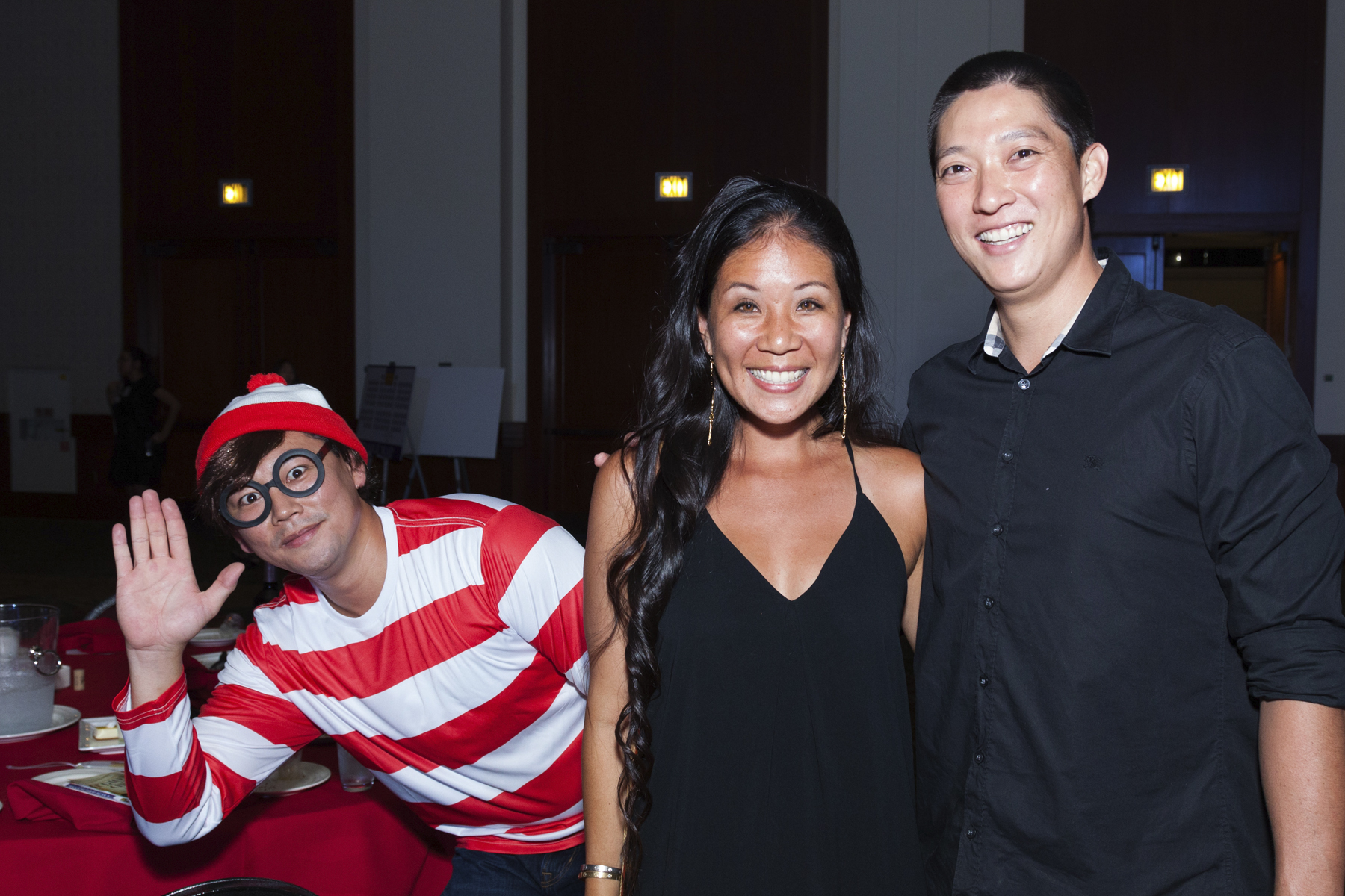 2016 AN EVENING AROUND THE WORLD: Waldo spotted again!