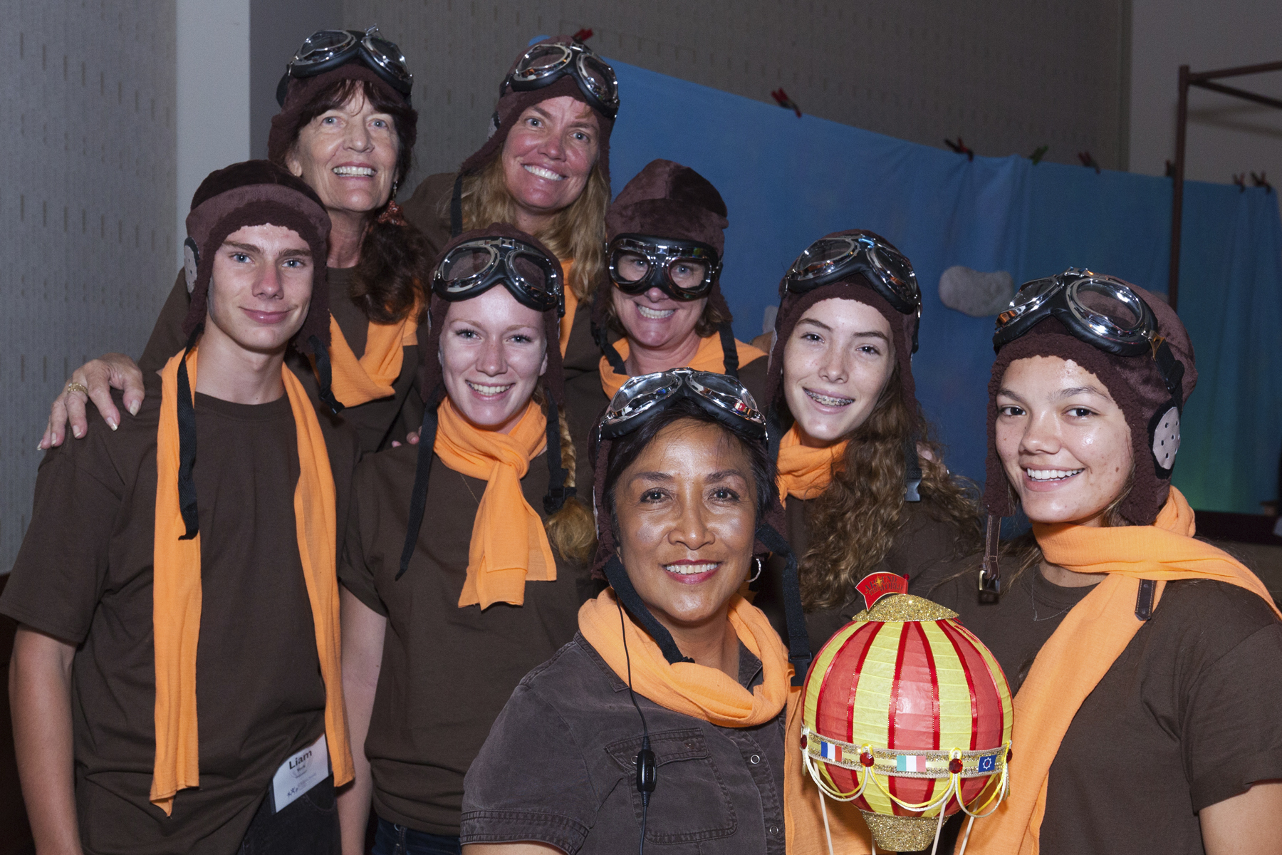 """2016 AN EVENING AROUND THE WORLD: The Photo Booth """"Pilots""""!"""