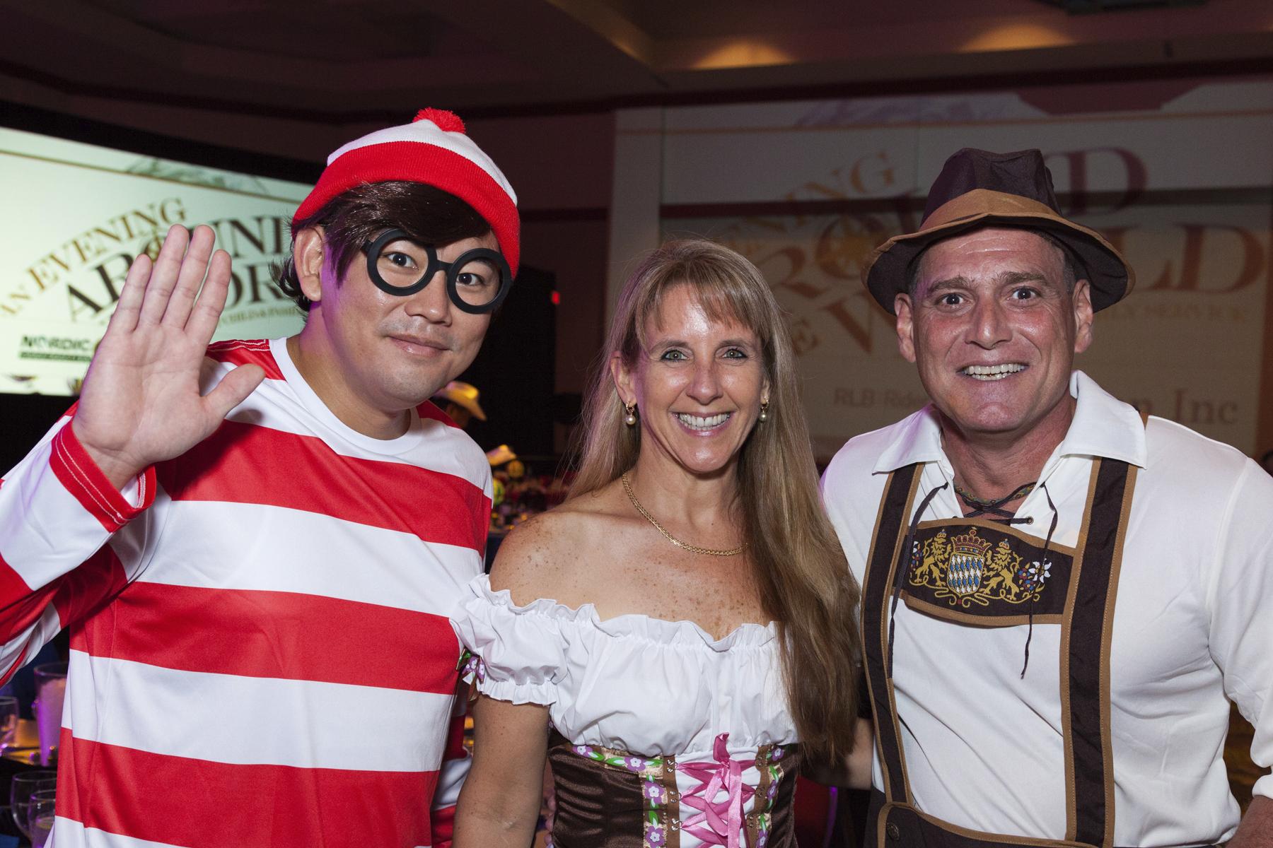 2016 AN EVENING AROUND THE WORLD: Found Waldo!