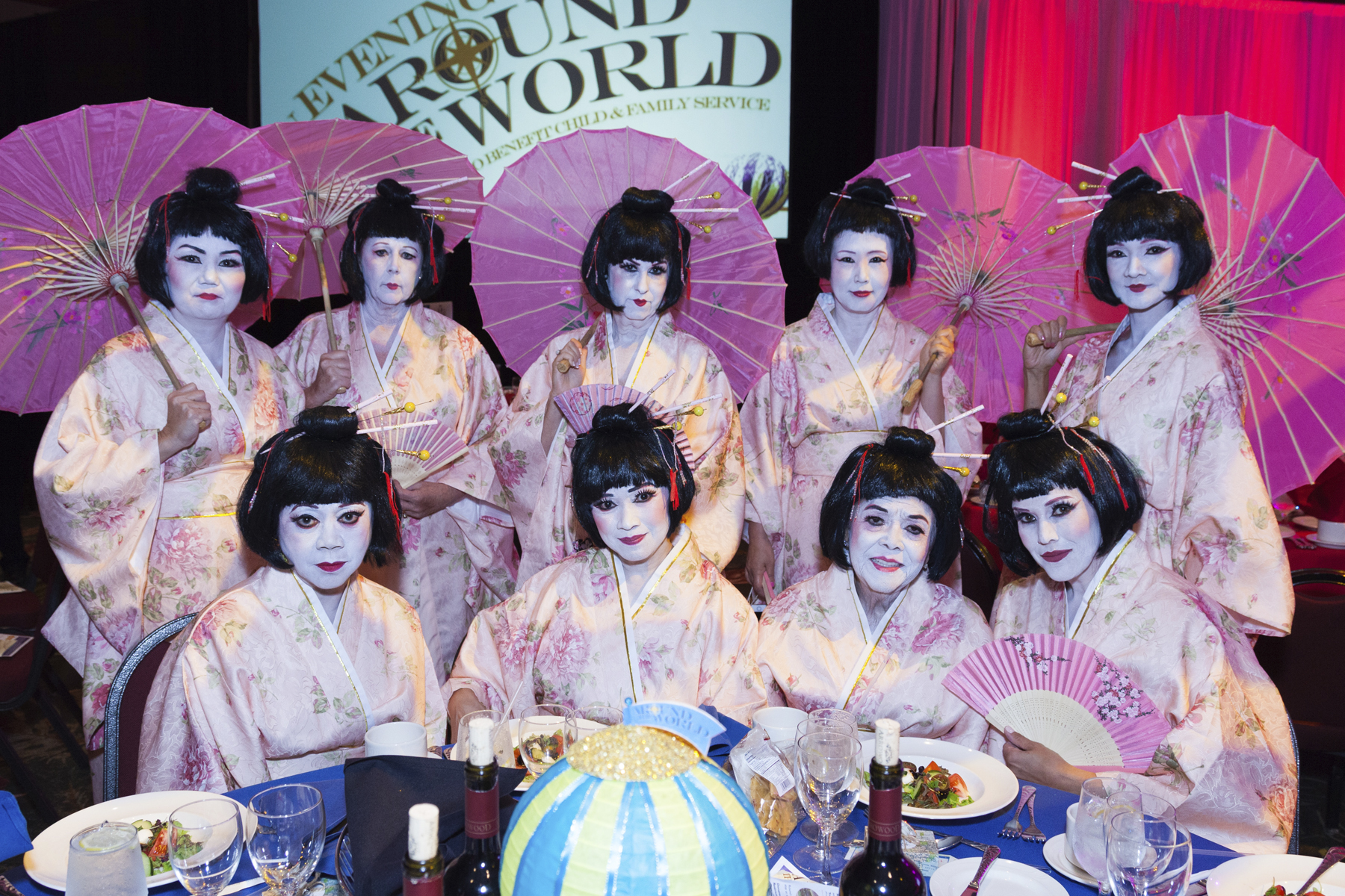 """""""By LAND"""" Sponsor: Geishas in Pink"""