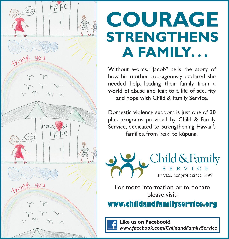 2012 Honolulu Star-Advertiser Community Support Guide - Child & Family Service