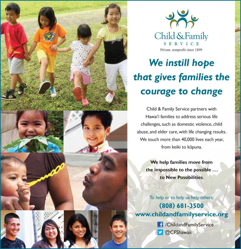 2013 Honolulu Star-Advertiser Community Support Guide - Child & Family Service