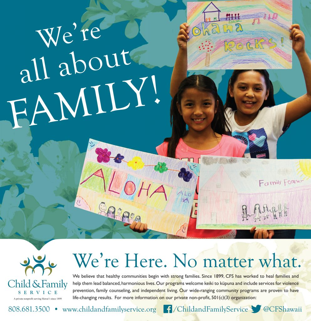 2015 Honolulu Star-Advertiser Community Support Guide - Child & Family Service