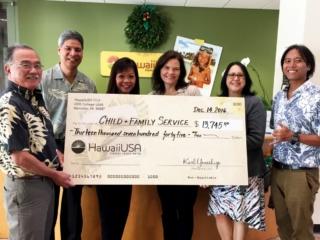Mahalo to HawaiiUSA Federal Credit Union!