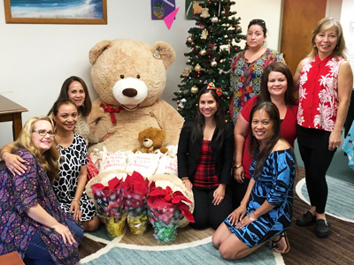 Mahalo to Simply Sisters by Lola Miller Designs & all the community members that supported our Hilo DV Shelter earlier this month! We are grateful!