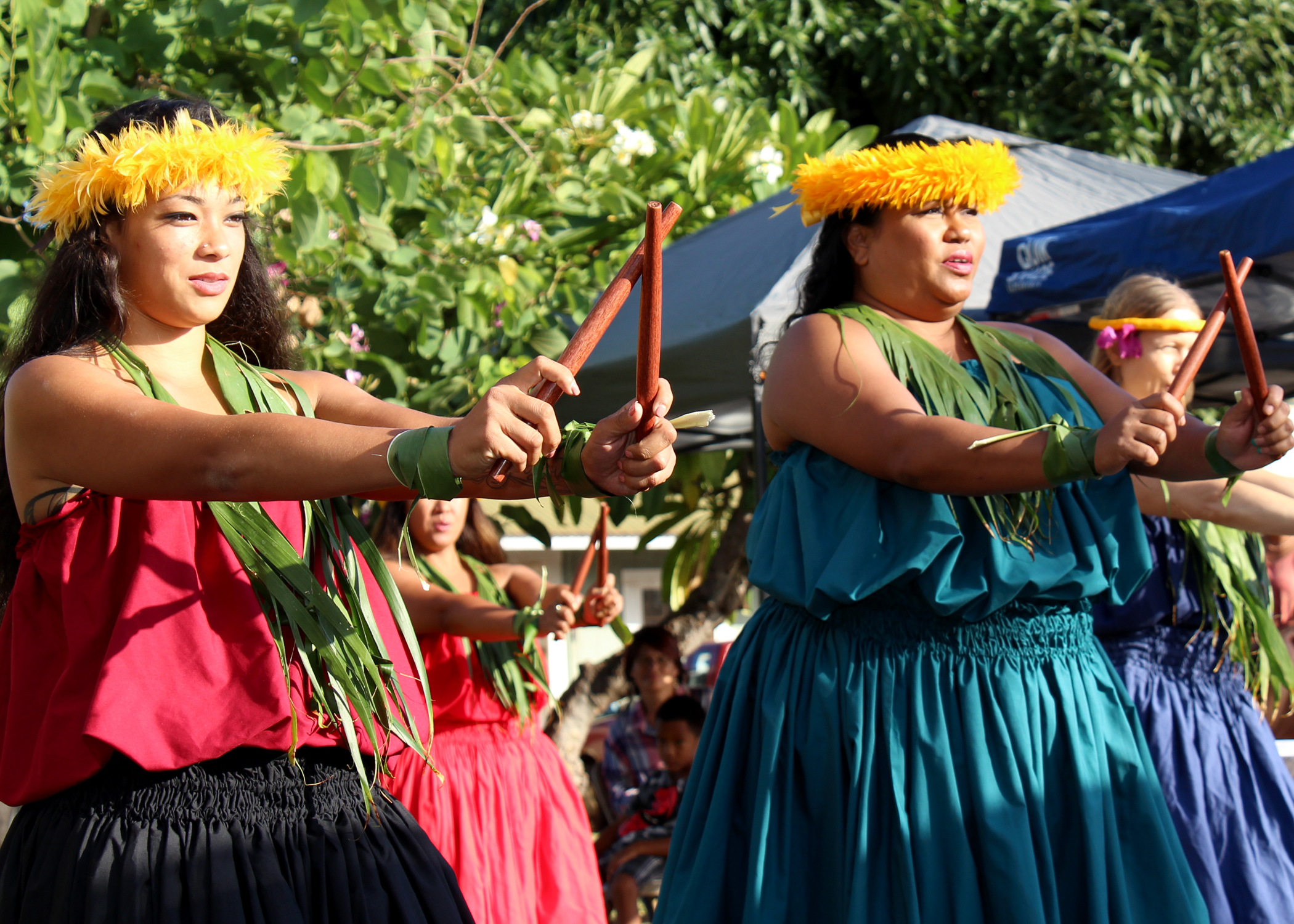 Hula Performance