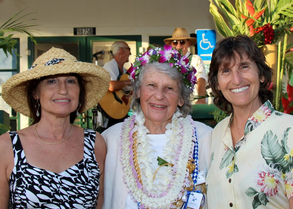 Nana's House Co-Founder Nancy Golden (middle) with daughters Cindy (left) & Debra