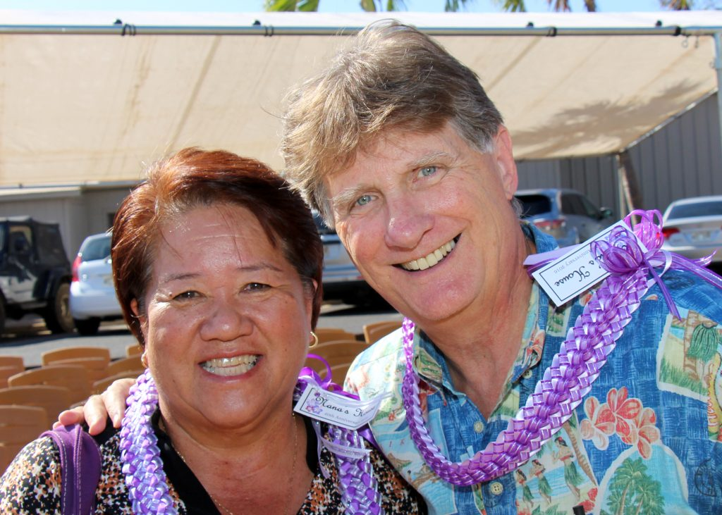 State Representative Dee Morikawa & CFS President & CEO Howard Garval