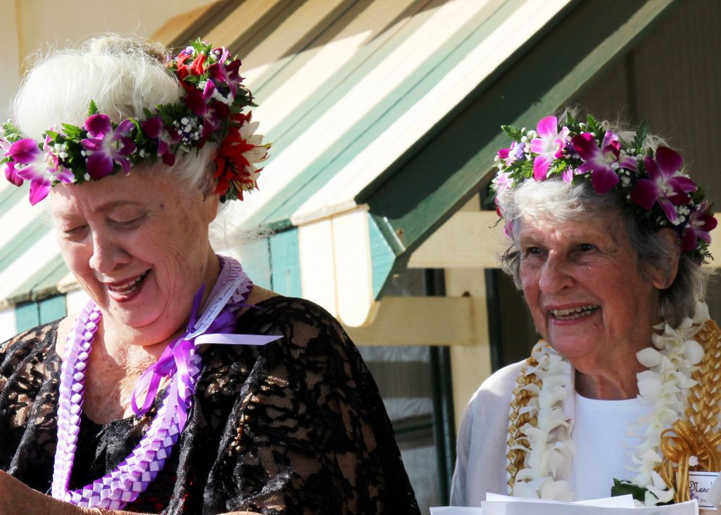 Two of Nana's House Co-Founders Hana Montgomery (left) & Nancy Golden