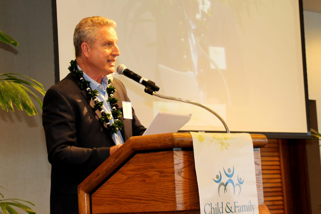 Emcee Dan Cooke (Sunrise Anchor, Hawaii News Now & Realtor® , Coldwell Banker Pacific Properties)