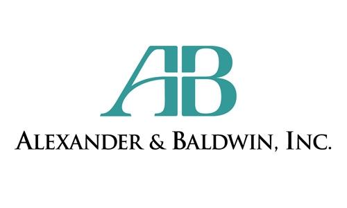 2017 Gold Sponsor: Alexander & Baldwin, Inc.