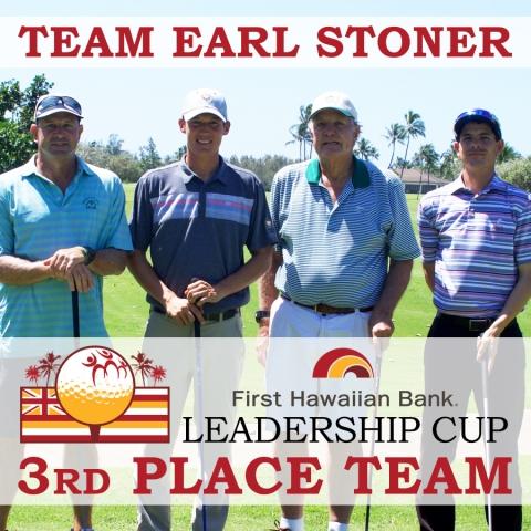 2017 First Hawaiian Bank LEADERSHIP CUP 3RD PLACE: Team Earl Stoner