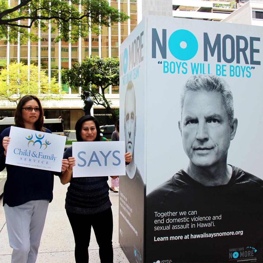 CFS Staff Support Hawai'i Says NO MORE!