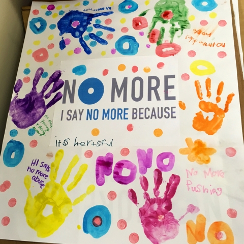 2017 NOMORE Week CFS Keiki Artwork from our Healing from Trauma Programs
