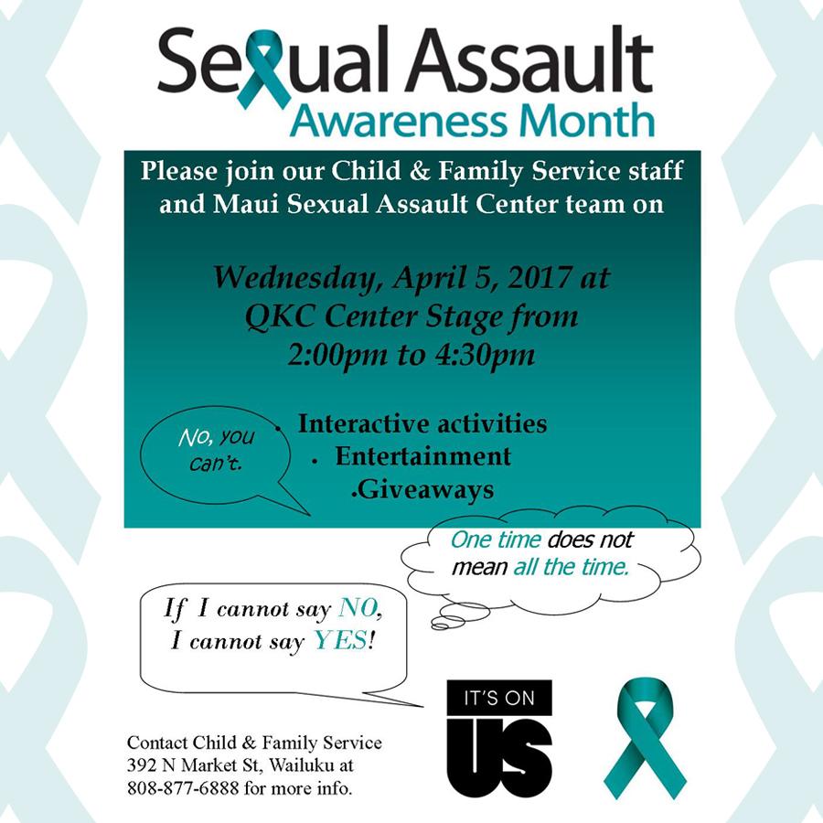 Maui Sexual Assault Center: QKC Center Stage