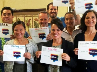 CFS Maui Staff - Start By Believing Day