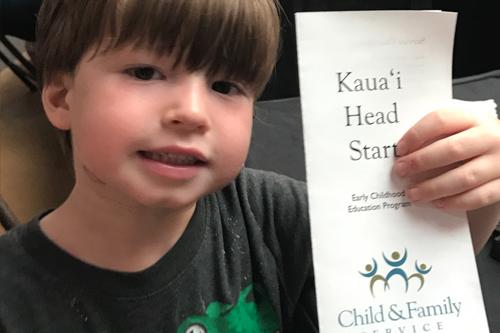 Head Start CFS Kaua'i at the Kukui Grove Center Back to School Bash!