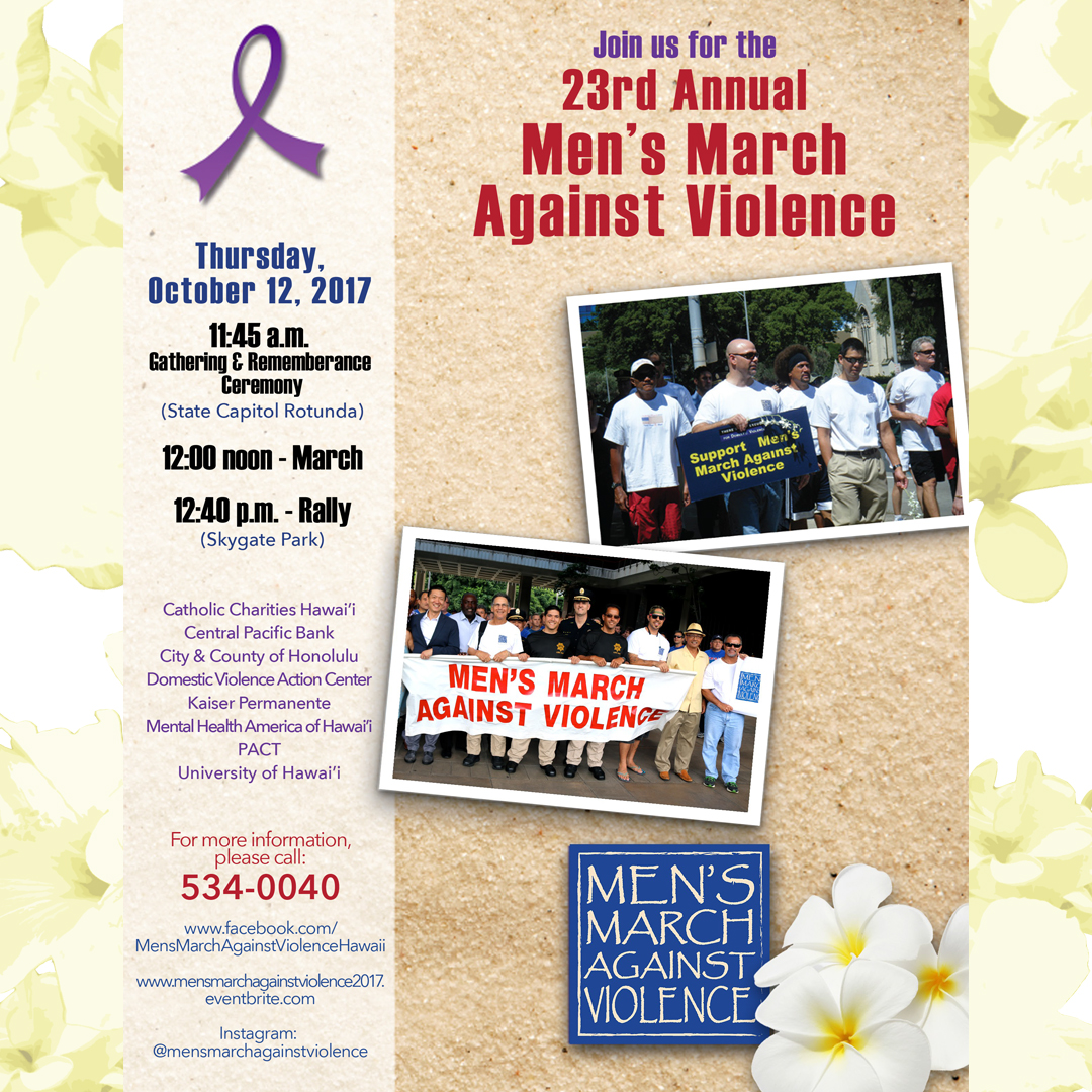23rd Annual Men's March Against Violence