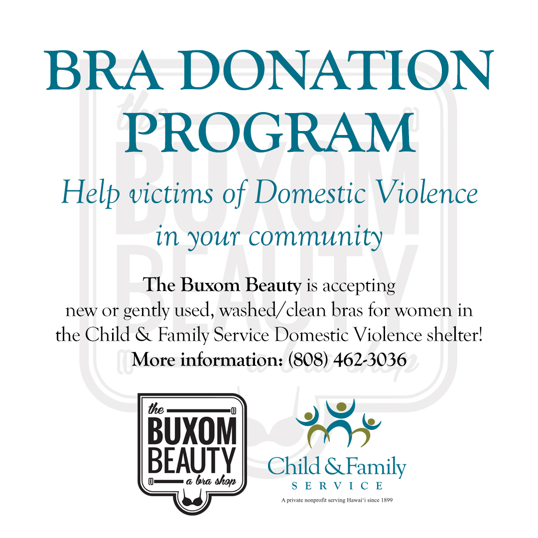 2017_Buxom Beauty Bra Donation Program