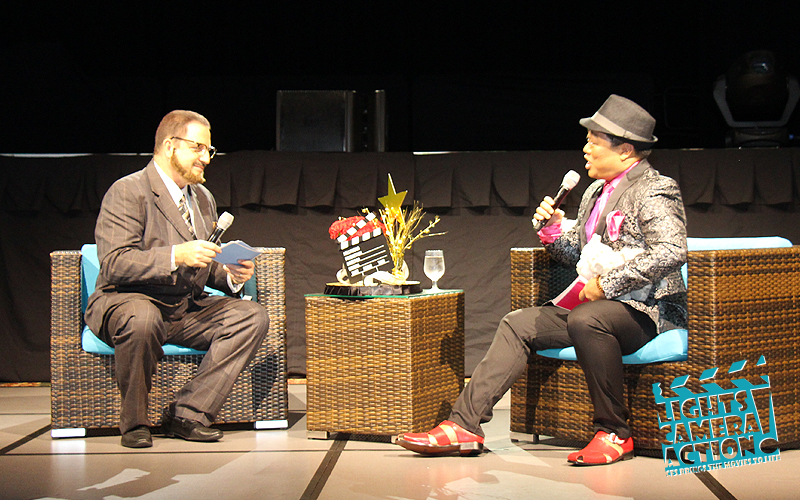 "LIGHTS! CAMERA! ACTION! Performance: ""Inside the CFS Actors Studio"" with Dan ""James Lipton"" & Scott ""Mr. Hollywood"" Higashi"