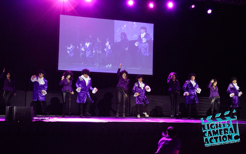 "LIGHTS! CAMERA! ACTION! Performance: ""Let's Go Crazy"""
