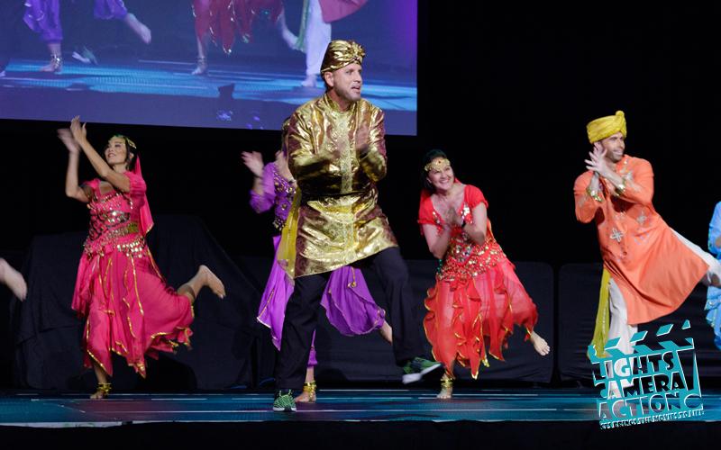 "LIGHTS! CAMERA! ACTION! Performance: ""Jai Ho"""
