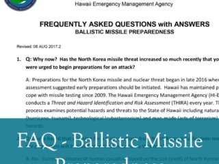 FAQ - Ballistic Missile