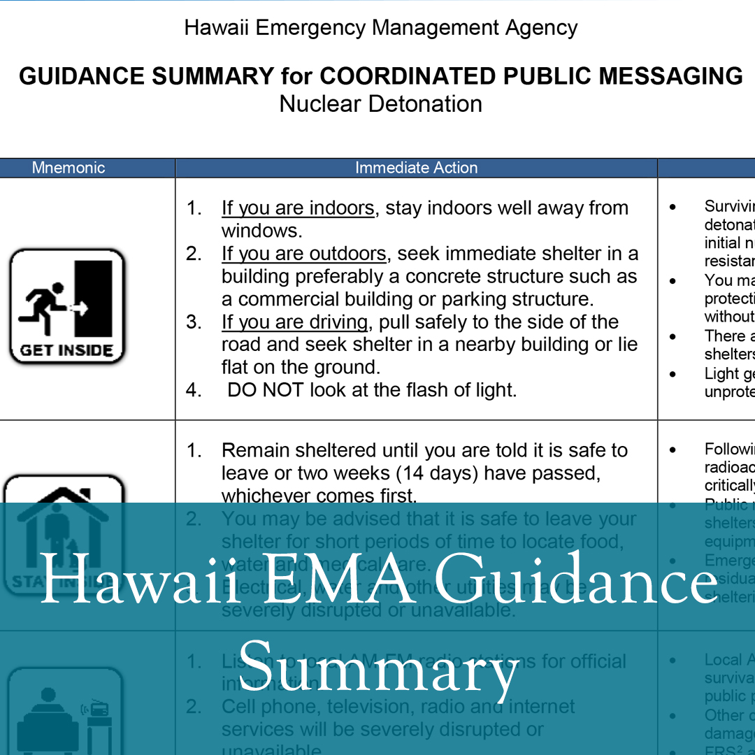 Guidance Summary