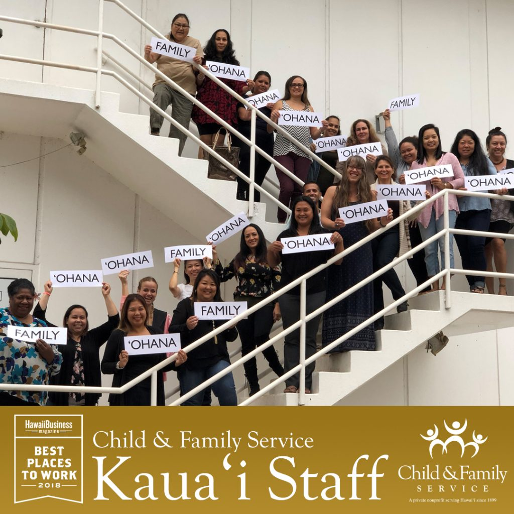 2018 Best Places To Work - CFS Kaua'i Offices