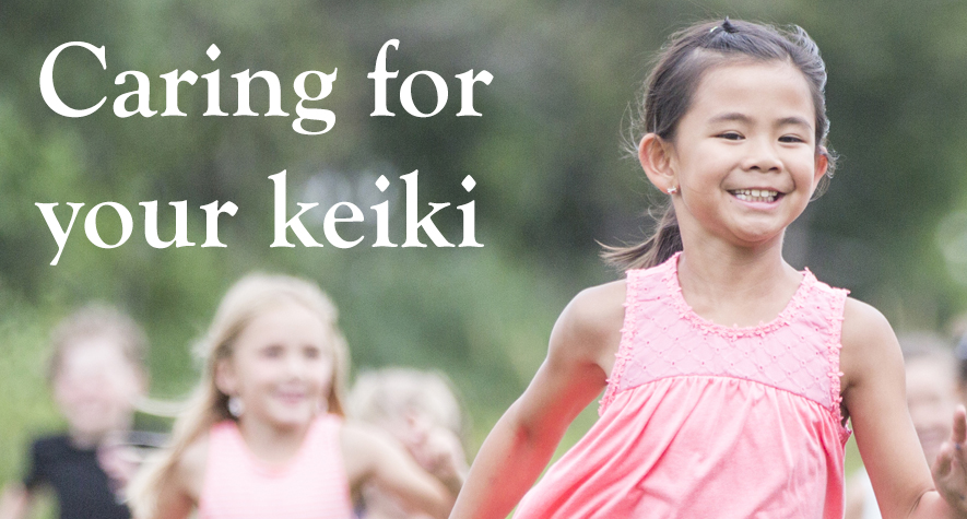 Caring for your keiki