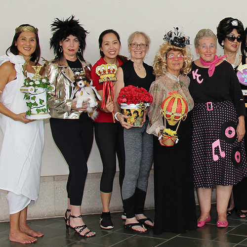 Bank of Hawaii presents HEROES & LEGENDS Preview!  The CFS Guild has been vital to this event for all of its 10 years! Here, they dressed in theme from all 10 years.
