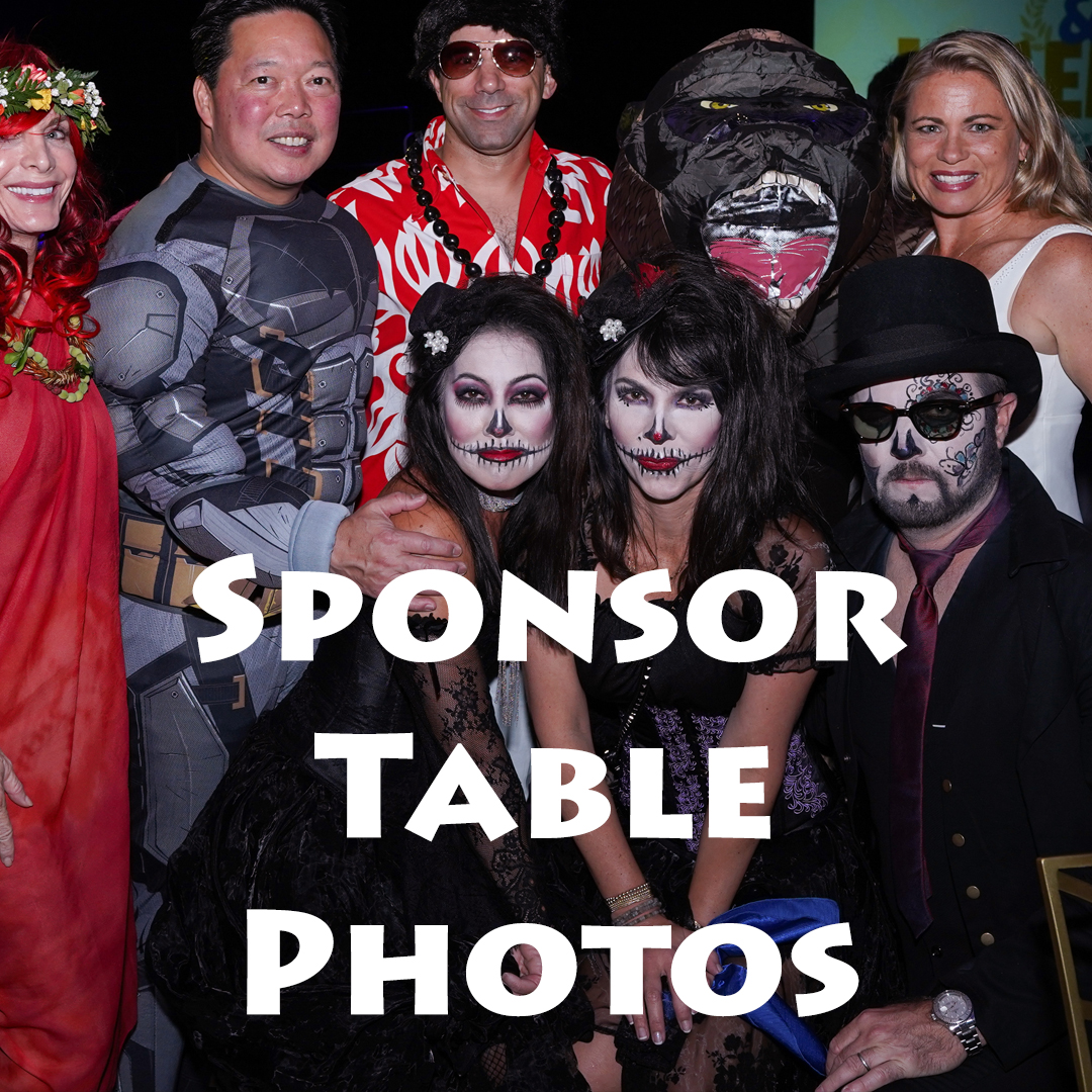 2018 Fall Gala Sponsor Table Photos