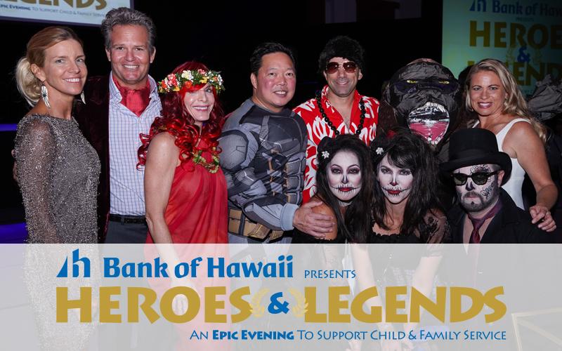 2018 Fall Gala Presenting Sponsor - Bank of Hawaii, table 1