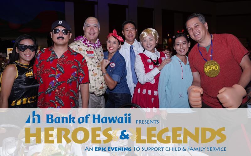 2018 Fall Gala Silver Sponsor - First Hawaiian Bank