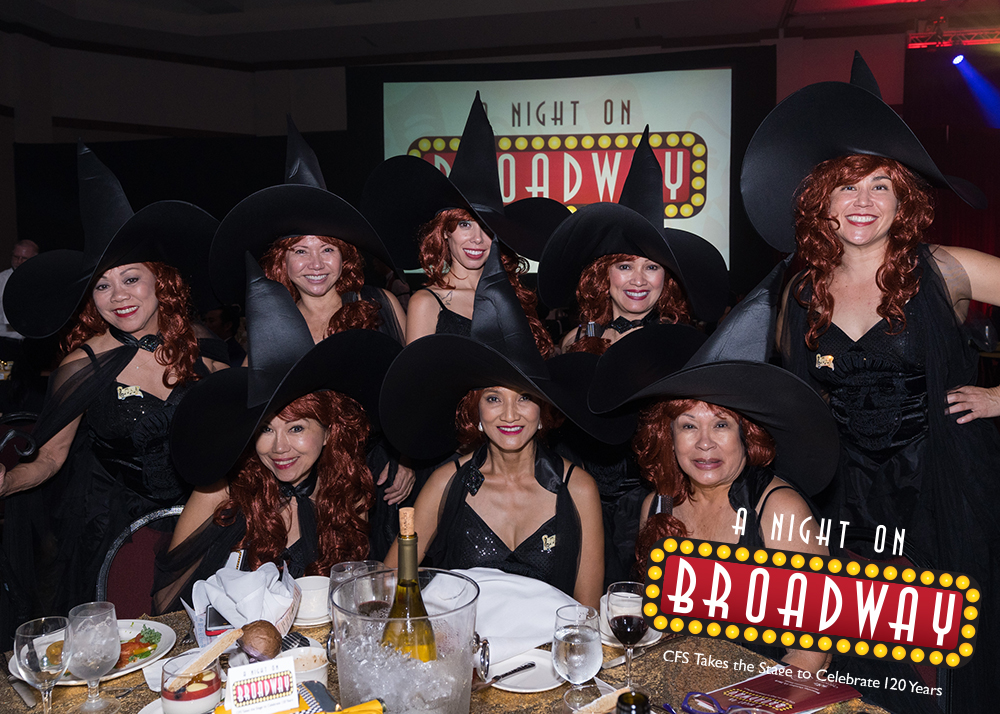 2019 A NIGHT ON BROADWAY Director Sponsor: The Good Witches