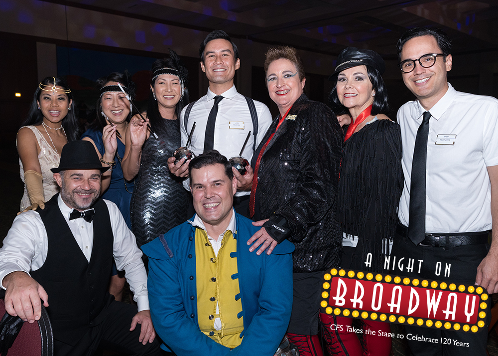 2019 A NIGHT ON BROADWAY Director Sponsor: Linda Lockwood Hair & Makeup